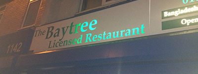 Sign repairs in Manchester